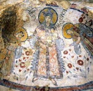 Matera Basilicata cripta